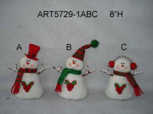 "8""H Christmas Decoration Snowmen and Santa, 3 Asst pictures & photos"