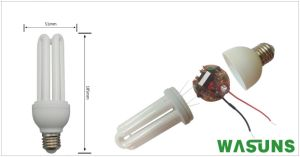 3u 18W E27 B22 2700k 110V Energy Saving Lamp Bulb pictures & photos