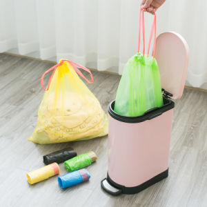 Custom Small Drawstring Garbage Bag pictures & photos