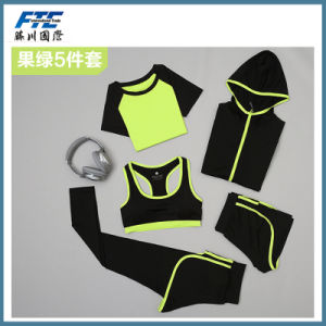 Custom Your Own Logo on Sport Wear for Gym pictures & photos