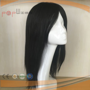 off Black Human Hair Poly Coated Border Mens System, Hair Piece Toupee pictures & photos