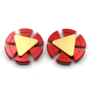 Adult Toy Iron Man Aluminium Fidget Spinners Iron Man Hand Spinners pictures & photos
