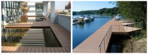 Durable Non Slip WPC Composite Floor Decking pictures & photos