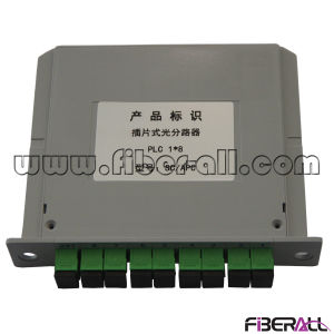 1X8 Fiber Optical PLC Splitter with Mini Steel Tube Package pictures & photos