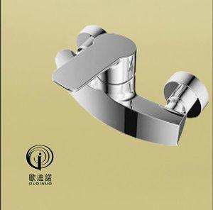 Oudinuo Single Handle Brass Bathtub Mixer & Faucet 68713-1 pictures & photos