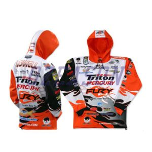 Original Design Sublimation Tournament Fishing Jersey with Hood (F008) pictures & photos