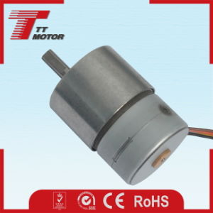 12V gear electric DC stepper motor for storage equipment pictures & photos