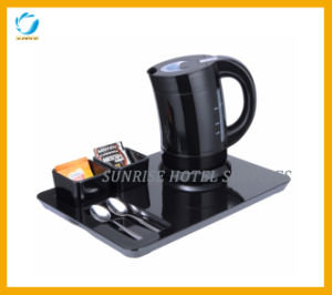 Hotel Guest Room Plastic Kettle with Welcome Tray pictures & photos
