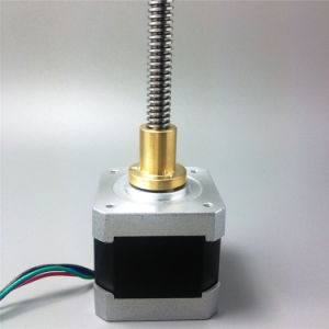 NEMA17 4.2 Kg. Cm High Torque Linear Stepper Motor with CE and RoHS pictures & photos