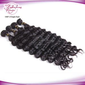 Fashion Loose Curly Wave Virgin Remy Brazilian Human Hair Weft pictures & photos