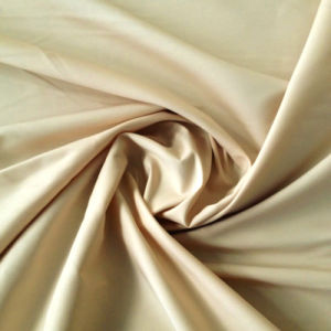Woven Garment T400 Cotton Satin Fabric for Shirt