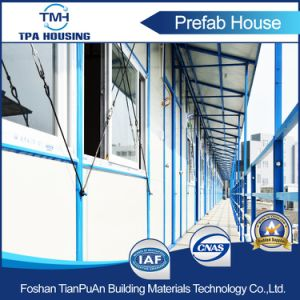 Fire Proof Sandwich Panel Steel Building Prefabricated Mobile House pictures & photos