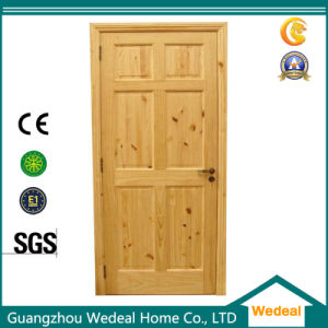 Customize Knotty Alder Interior Solid Wooden Doors pictures & photos