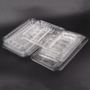 Clear PET Fresh Seafood/Vegetable/Fruit Tray plastic pictures & photos