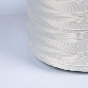Sturdy Polyester Firm Yarn for Cable (white) pictures & photos