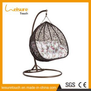 Outdoor Wicker/Rattan Egg Shape Furniture Garden Hanging Swing Chair pictures & photos