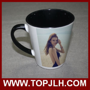 Customized Printing 12oz Inner Colorful Cone Mug pictures & photos