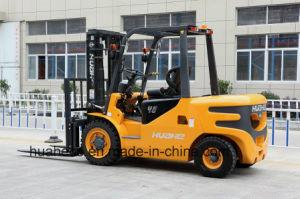 4.0Ton Diesel Forklift Truck with Japanese Engine(HH40Z-W2-D, ISUZU 4JG2 Engine) pictures & photos