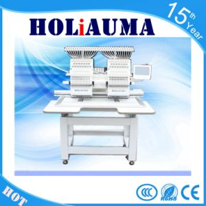 China Barudan Similar Multi-Functions Commercial 2 Head Mini Computer Embroidery Machine pictures & photos