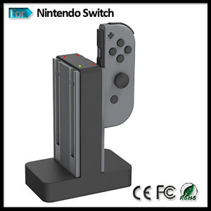 Gamepad Joy-Con Controller Charging Dock Base Station for Nintendo Switch Console pictures & photos