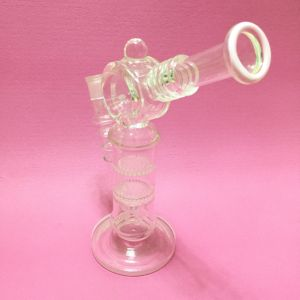 New Cross-Crystal Recycler Smoking Water Pipe pictures & photos