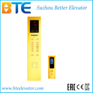 Mrl Gold Decoration Passenger Elevator for Commercial Building pictures & photos