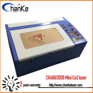 Desktop Mini CO2 Laser Engraving and Cutting Machine Ck400 pictures & photos