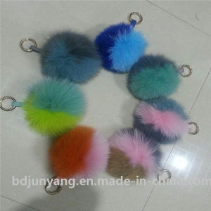 12cm 100% Real Fox Fur POM POM for Bags pictures & photos