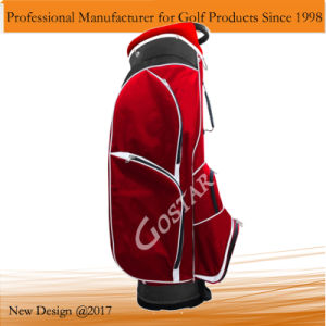 Light Weight Red Nylon Golf Bag pictures & photos
