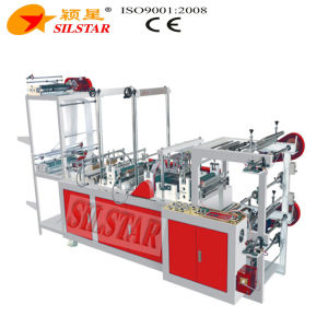 Double Lines Star Seal Rolling Flat Bag Making Machine pictures & photos