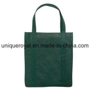 "80GSM Recyclable Non-Woven Shopping Tote Bag with Reinforced 20"" Handles pictures & photos"