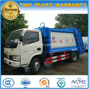 5t Garbage Compress and Transport Truck 5 Cbm Waste Treatment Truck for Sale pictures & photos