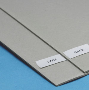 Grey Bookbinding Chip Board Recycled pictures & photos