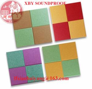 Cheap Polyester Fiber Acoustic Pet Panel Decoration Panel Board Sheet pictures & photos
