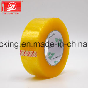 Super Clear Water Based Acrylic Adhesive Clear BOPP Packing Tapes 120rolls in a Carton pictures & photos