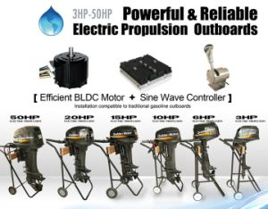 20HP Electric Boat Engine/ Electric Outboard/ Electric Propulsion Outboard/ Zero Pollution pictures & photos