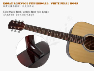 Aiersi Plywood Body Acoustic Guitar for Beginner pictures & photos