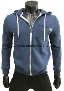 Soft Comfortable Brushed Cotton Hoody for Men pictures & photos