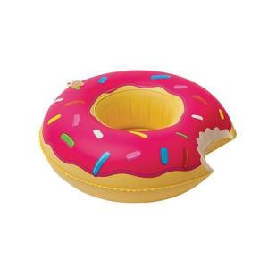 Mini Inflatable Donut Can Holder Coaster pictures & photos