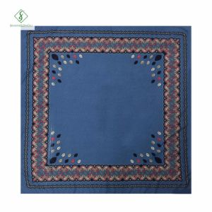 Hot Sale Fashion Square Scarf French Cotton Printed Muslim Hijab pictures & photos