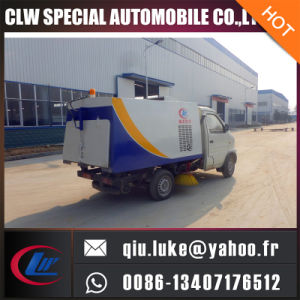 Foton Small Size Mini Mounted Machine Road Street Sweeper Truck pictures & photos