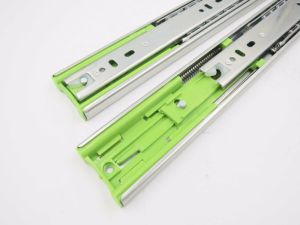 45mm Soft Closing Drawer Slide Full Extension Ball Bearing Drawer Slide pictures & photos