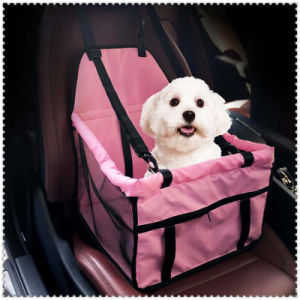 Pet Carrier Dog Car Seat Pad Safe Carry House Cat Puppy Bag Car Travel Accessories Waterproof Dog Bag Basket Pet Products pictures & photos