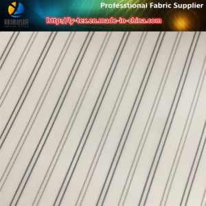 White Broad Stripe Textile Fabric for Men/Women Suit Lining (S81.87) pictures & photos