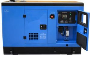 New Made High Power Electrical 15kw Silent Diesel Generator Bm15s pictures & photos
