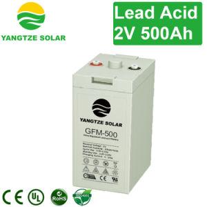 Yangtze Power Solar Battery Bank 2V 500ah pictures & photos