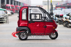 Big Discount 3 Wheels 2 Seaters Electric Car with 80km Range pictures & photos