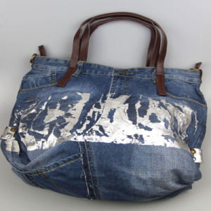 Washed Jeans Handbags, Fashion Accessory Cotton Bag, Leisure Bags for Women pictures & photos