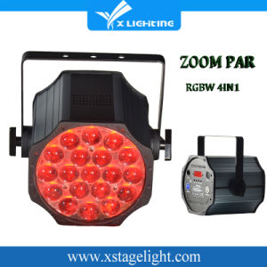 Most Popular Indoor 19PCS 15W 4in1 LED PAR Light with Zoom pictures & photos