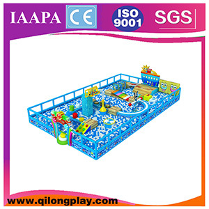 2016 New Qilong Kids Equipment Indoor Playground pictures & photos